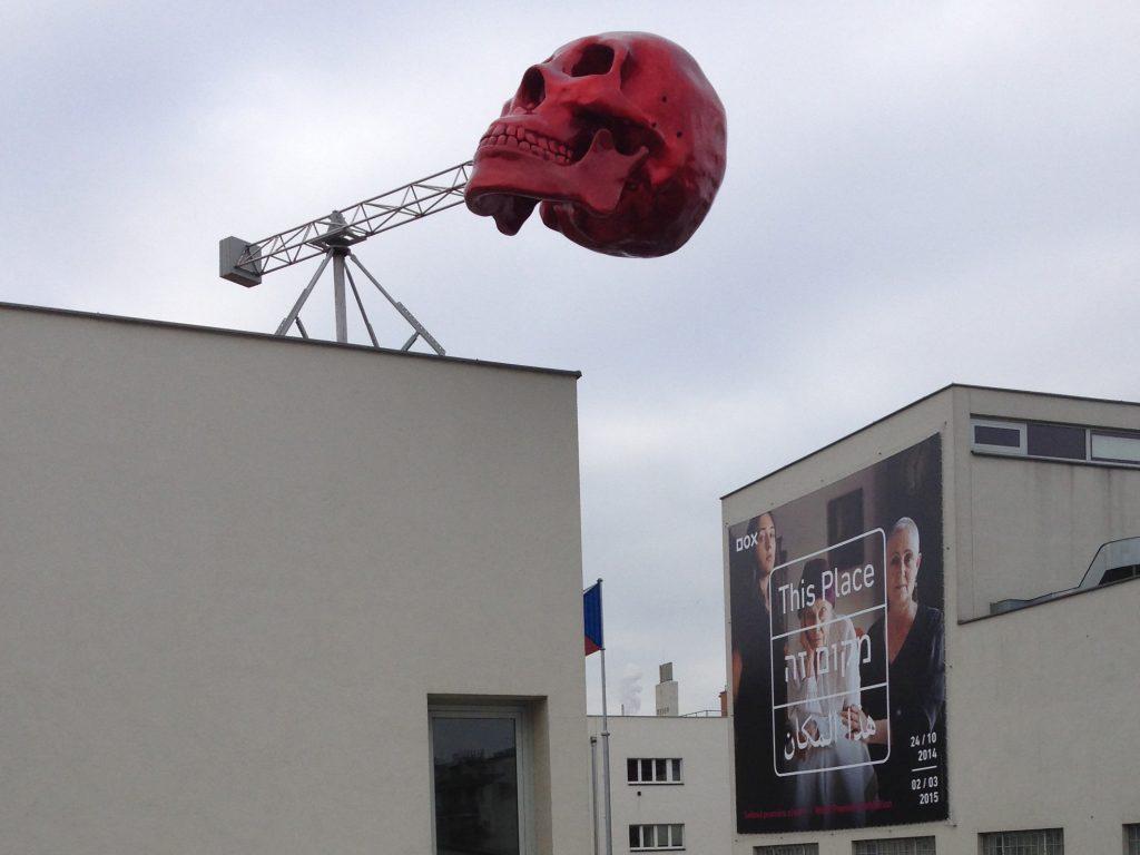 """David Černý - """"Fast Tuned Skull"""""""