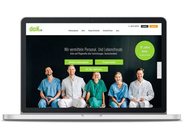 Piccobello Webdesign Referenz doxx Heidelberg