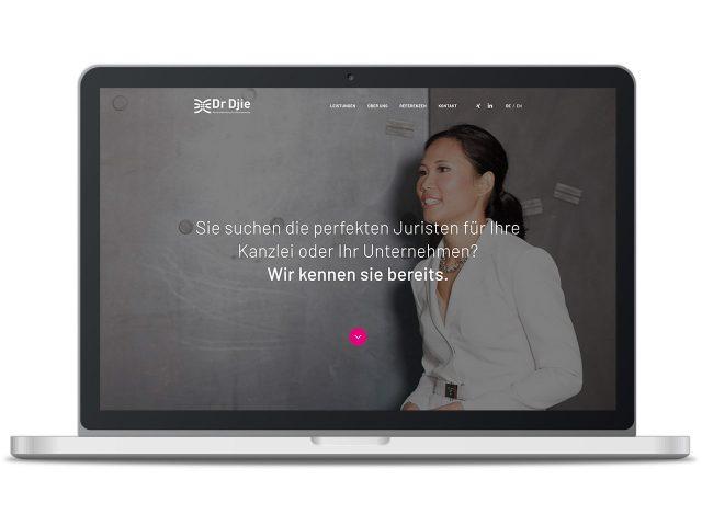 Piccobello Webdesign Referenz Dr. Djie