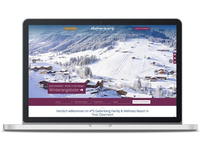 Piccobello Webdesign Referenz Hotel Galtenberg