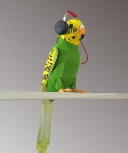 Hansi M. Glück, Maskottchen der Piccobello Webdesign Agentur Trier