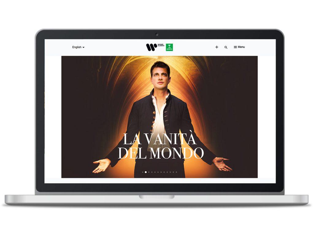 Piccobello Webdesign Referenz Warner Classics