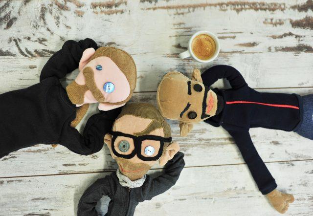 Piccobello Monster Yourself Puppen bei Kaffee und Ruhe