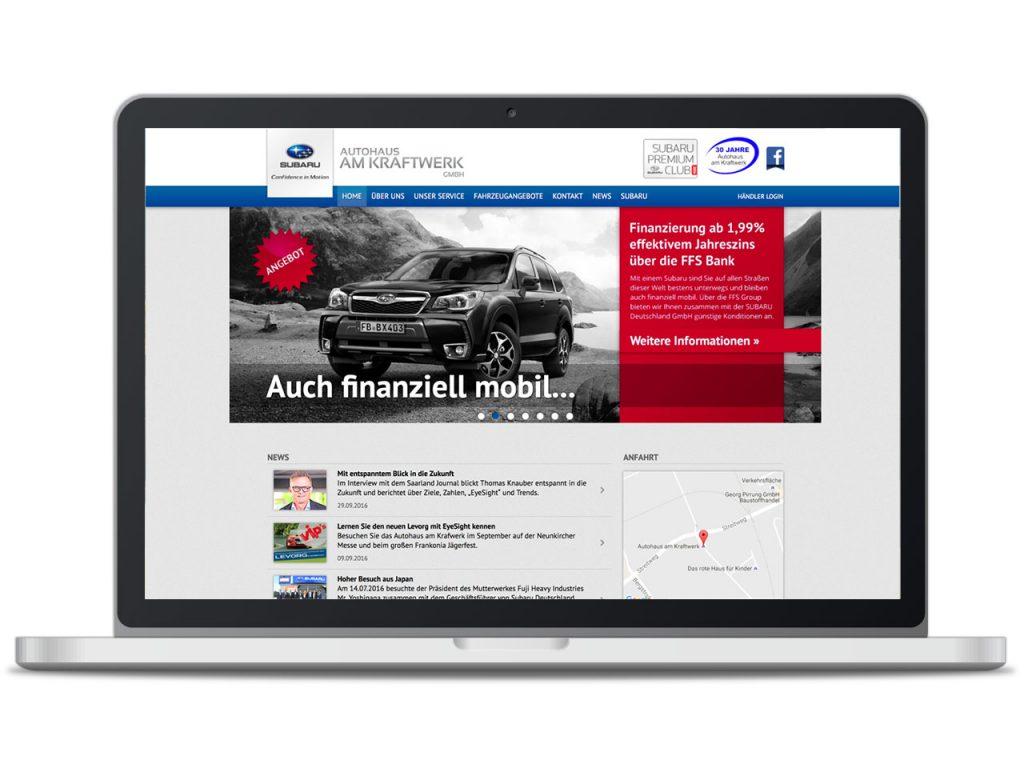 Piccobello Referenz Subaru Autohaus am Kraftwerk